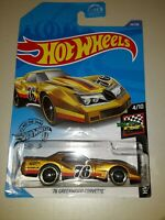 2020 Hot Wheels '76 Greenwood Chevy Corvette 1/64 HW Race Day