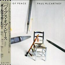 PAUL MCCARTNEY-PIPES OF PEACE-IMPORT LP WITH JAPAN OBI Ltd/Ed J50