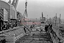 PHOTO  REBUILDING  CHOLSEY BRIDGE 1978 VIEW 4
