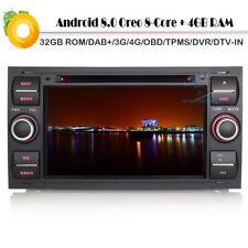 "7""Android 8.0 Ford C-Max Fiesta V DAB+Autoradio Navigation GPS Car DVD 4G DVB-T2"