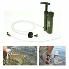 Portable Soldier Water Filter Purifier Cleaner Outdoor Hiking Survival Emergency
