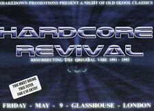 HARDCORE REVIVAL 9/5/ Classic Rave Flyer