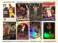 2018-19 Chronicles Basketball Base and Rookie #1-#300 Doncic/Young (You Pick)