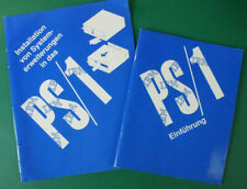 Bedienungsanleitung PS/1 Einführung & Installation Systemerweiterung  B-16662
