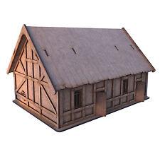 28 mm MDF laser cut Fantasy Terrace cottages for Medieval & Border Reivers
