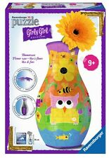 PUZZLE 3D JARRON BUHOS FLORERO RAVENSBURGER 12050 GIRLY GIRL Flower Vase Fleurs