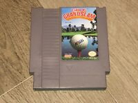 Golf Grand Slam Nintendo Nes Cleaned & Tested Authentic