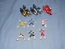 mighty morphin vintage micro figures cake toppers play sets