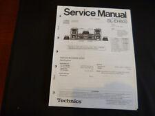 Original Service Manual Technics SL-EH600