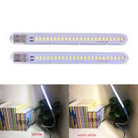 5V 12W USB LED Night Light 24 LEDs USB Reading Table Lamp Book Lights