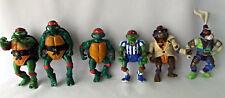 TMNT Teenage Mutant Ninja Turtles Action Figures Rabbit Don Undercover Raphael 6