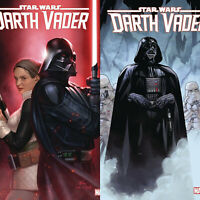 """STAR WARS DARTH VADER #3 MAIN & VARIANT CVR SET """"GHOSTS OF VADER'S PAST"""" HOT"""