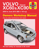 Volvo XC60 & XC90 Diesel 2003-2013 Repair Manual