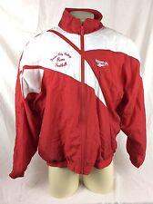 Vtg Rebook Lined Windbreaker Training Jacket Mens LG Fresno City Football Logo