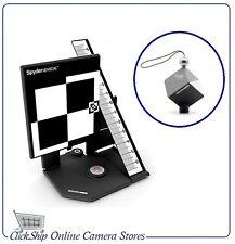 Datacolor Spyder LensCal and SpyderCube RAW Calibration tools Mfr# SLC100 +SC200