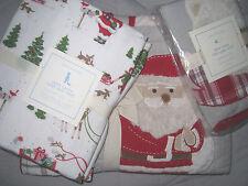 Pottery Barn Kids Dear Santa Nursery Toddler Crib Quilt + Sheet Set + Sham!