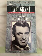 Cary Grant Charade His Girl Friday 2 Video Cassettes Black And White