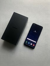 SAMSUNG GALAXY S8 PLUS + BLACK 64GB (UNLOCKED)  ALL UK NETWORKS O2 EE 3 VODAFONE