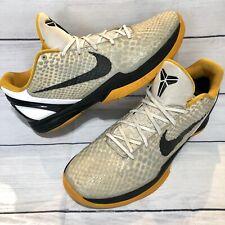 Nike iD Zoom Kobe Bryant VI 6 Venomenon Sz 14 Black Yellow Lakers 446897-991