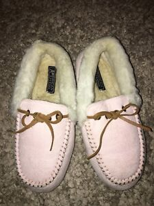Sherpa Slippers Moccasin Shoes Women 6.5 - 7.5