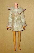 Takara Vintage Licca Silver Dress Tlc Sold As-Is