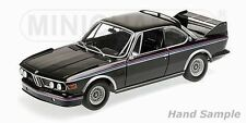 1:18 Minichamps BMW 3.0 Csl (E9) Coupe 1973 Black with Stripes Limited Edition