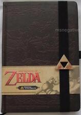 Legend Of Zelda Hyrule Map Hardcover Writing Journal Notebook Licensed Nintendo