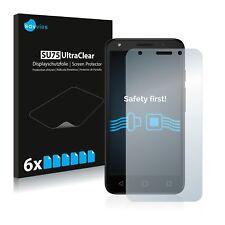 6x Pellicola Protettiva per Alcatel Pixi 4 (5.0) 3G Protezione Proteggi Schermo