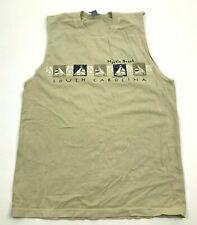 VINTAGE South Athletics Sleeveless Shirt Tank Top Size Medium Myrtle Beach USA