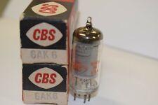 PAIR (QTY 2) 6AK6 CBS VINTAGE TUBES - NOS IN BOXES