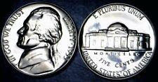 1955 GEM PROOF Jefferson Nickel Coin ~ SUPERB BLAZING PRF    NR