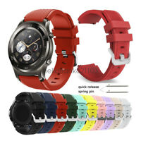 Replacement Rugged Silicon Sport Watch Band Strap For Huawei Watch 2 Pro Classic