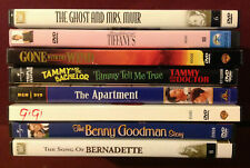 DVD Lot - The Ghost and Mrs. Muir, Breakfast at Tiffany's, The Apartment, Gigi..