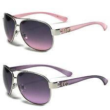 New Cg Classic Retro Women Fashion Metal  Aviator Vintage Designer Sunglasses