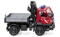 #060131 - Wiking Feuerwehr - Unimog U 20 mit Ladekran - 1:87