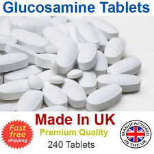 Glucosamina, condroitina, MSM, Vitamina C congiunta dell' assistenza sanitaria, 240 compresse Made in UK
