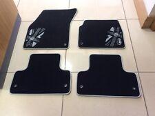 Rangerover evoque, carpet mats. monochrome union jack style. LR068393