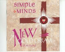 CD SIMPLE MINDSnew gold dreamEX- (A3123)