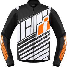 Icon Overlord SB2 Motorcycle Jacket Orange XL XLarge