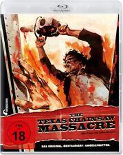 THE TEXAS CHAINSAW MASSACRE (Blu-ray) NEU/OVP