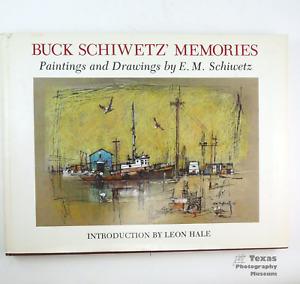 Buck Schiwetz Memories - 85 Drawings & Paintings - Nice Hardback Book