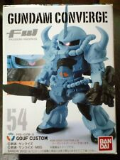 Gundam Converge 54 Ms-07B-3 Gouf Custom New Fw Bandai