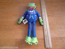 "Kermit the Frog plush 1998 Blockbuster Video figure 8"" The Muppets"