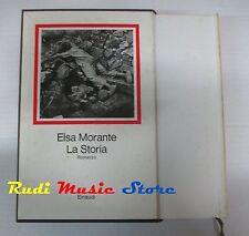book libro Elsa Morante LA STORIA ROMANZO Ed. Einaudi 1976   (L2)