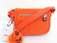 BNEW Authentic KIPLING Sabian AC7240 Crossbody Sling Bag Brite Orange FREE SHIP