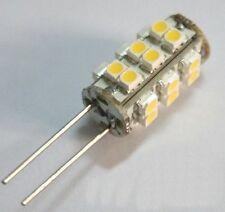 G4 25 SMD LED Warm White Marine Light Bulb Lamp 12 Volt