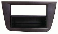 Mascherina con foro ISO/Doppio Iso/Doppio DIN colore neroSeat Altea-Toledo FR 0