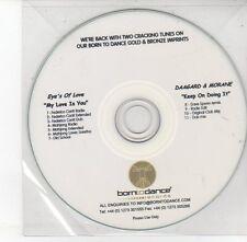 (EH540) Eye's of Love / Daagard & Morane, split single - DJ CD