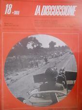 La Discussione 18 1969 Settimanale politico fondato da Alcide De Gasperi - Sudan
