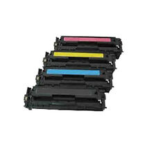 Set of 4 Toner Cartridge For HP CP1210 CP1215 CP1215N CP1217 CP1510 CP1514